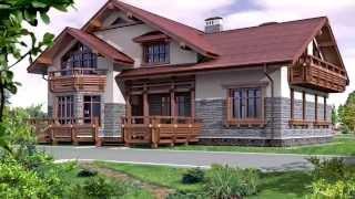видео Дом двухэтажный и фото красивых проектов домов