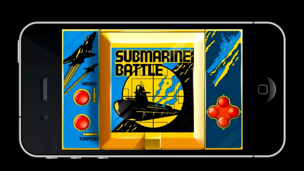 Submarine Battle - Retro Classic LCD Game - Mobile Force