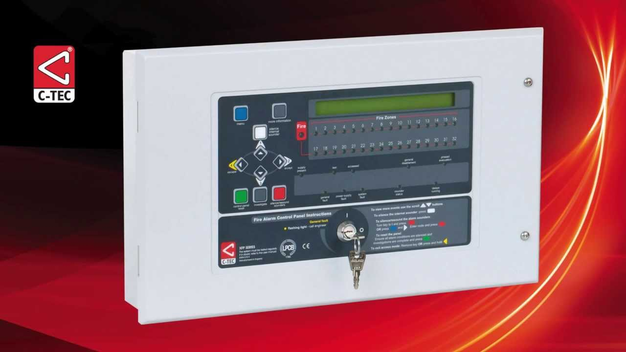 Setting up the SerialCOMM ports on an XFP fire panel and