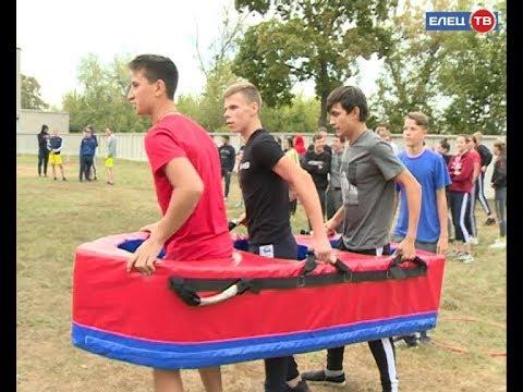 Молодёжь выбирает спорт: в Елецком колледже экономики, промышленности и отраслевых