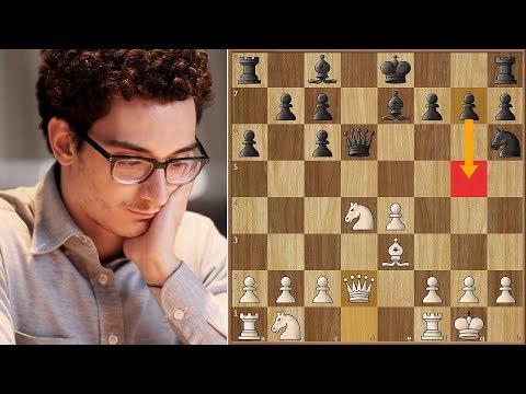 g5 Is a Thing! | Meier vs Caruana | Grenke Chess Classic 2018.