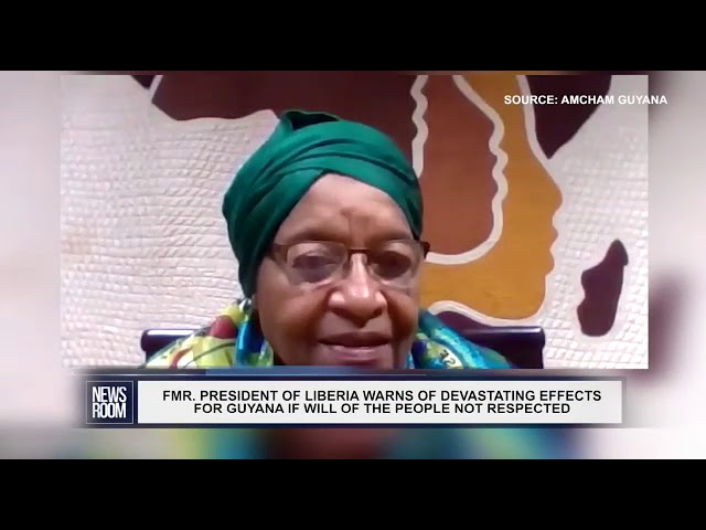Comment By Former President Of Liberia Nobel Peace Prize Winner Ellen Johnson Sirleaf July 8 2020 Youtube