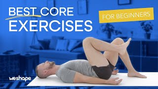 4 Best core exer¢ises for beginners