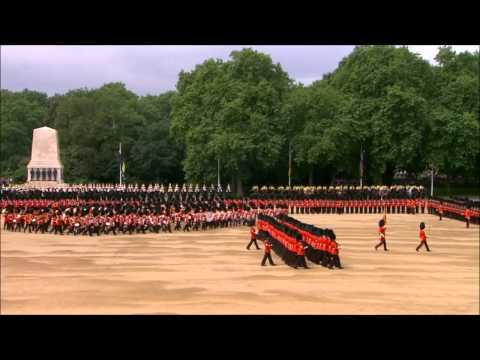 Trooping the Colour 2014 HD - Part 2/4