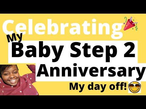 Celebrating My Baby Step 2 Anniversary! | Debt Payoff Anniversary | Debt Free Journey | Saving Coins