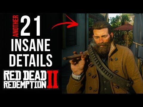 21 INSANE Details in Red Dead Redemption 2 (Final Part)