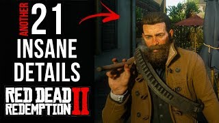 21 INSANE Details in Red Dead Redemption 2 (Final Part)