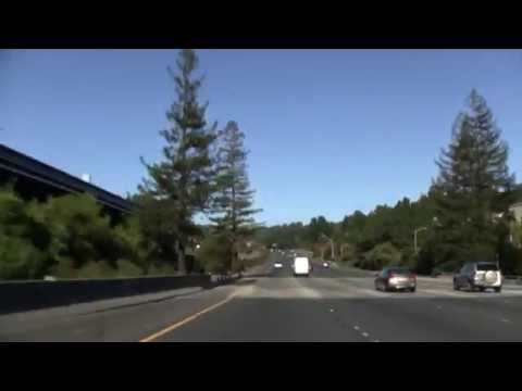 I-980 East And CA 24 East, Oakland To Walnut Creek, Caldecott Tunnel Footage