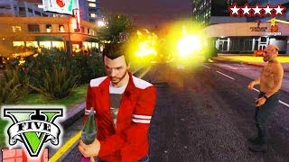 GTA 5 FUN WITH RPG | GTA Funny Moments | GTA V Crazy Weapons, Explosions & Destruction