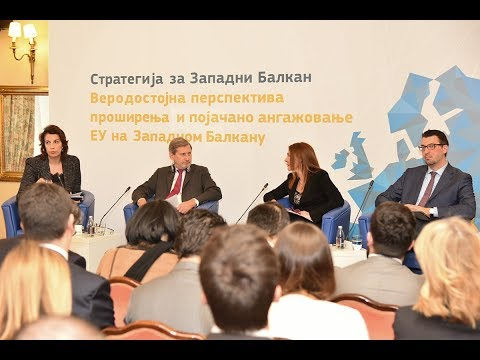Strategy for the Western Balkans, Opening the Way to EU Accession