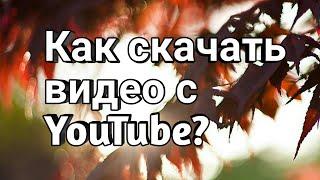 Как скачать видео с YouTube без программ?