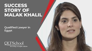 Success Story of Malak Khalil - QLTS School's Former Candidate