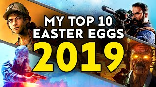 Top 10 Video Game Easter Eggs & Secrets of 2019