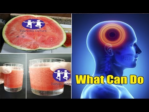What watermelon and Ginger Can do, Watch this now, The power of watermelon and Ginger for health!