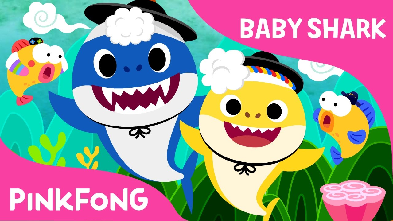 Baby Shark Meets Traditional Korean Music Animal Songs