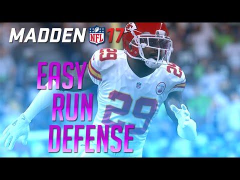 Madden 17 Defensive Tips - Best Easy Run Defense (3-4)