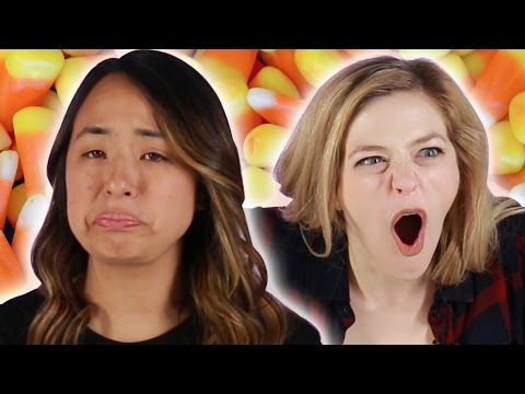 Thumbnail: People Try Brunch-Flavored Candy Corn