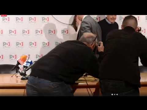 Regionali, la conferenza stampa di Nicola Zingaretti dal Nazareno