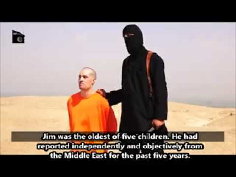 Video american journalist james foley beheaded by isis terrorists