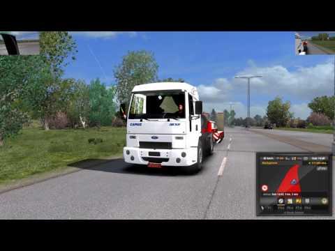 Euro Truck Simulator 2 (1.27) Ford Cargo 1832 Fix 1.27 + DLC's & Mods