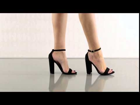 f76038d8f755 Carrson in Black Suede Steve Madden - YouTube