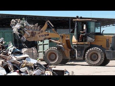 Первый завод по переработке и сортировке мусора запустили в Краснодаре