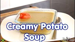 Chef creamy potato soup  This rich and creamy potato soup..