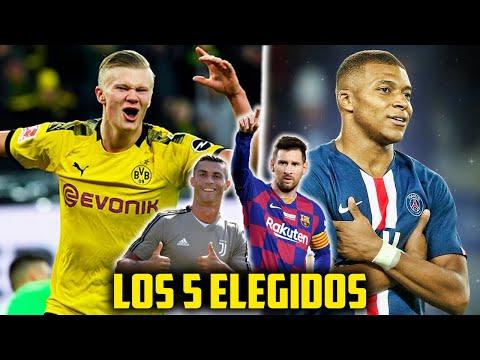 5 Sucesores De Messi Y Cristiano Ronaldo DESPUÉS DEL RETIRO