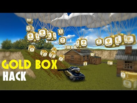 Tanki Online Gold Box Hack! Insane Lucky Golds: So this is my