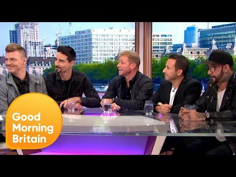 Backstreet Boys Show Off Their Vocal Skills By Performing I Want It That Way | Good Morning Britain