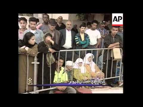 MOROCCO: PREPARATIONS FOR THE FUNERAL OF KING HASSAN II (2)