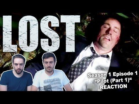 """Lost Season 1 Episode 1 """"Pilot Part 1"""" REACTION"""