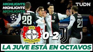 Highlights | Bayern Leverkusen 0 - 2 Juventus | Champions League - J 6 - Grupo D | TUDN