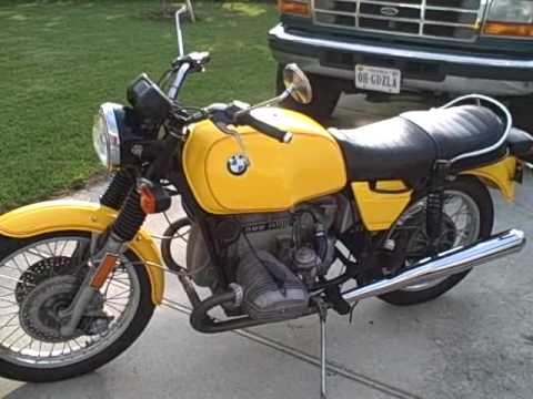 bmw r100 7 fast idle to slow idle youtube. Black Bedroom Furniture Sets. Home Design Ideas
