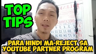 T PS How to avoid rejection from youtube review for monetization