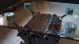 Engine Block Coffee Table - 1959 Cadillac 390 Cubic Inch V8