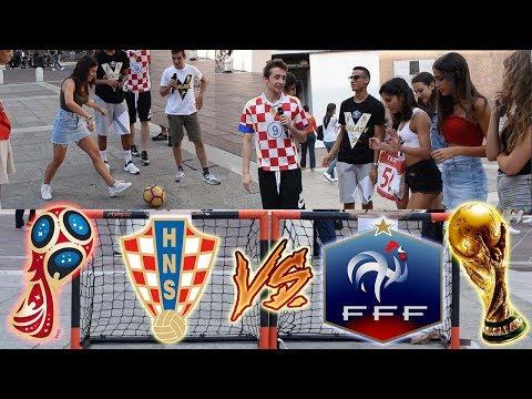 Francia VS Croazia - Chi Vincerà i MONDIALI Secondo Gli ITALIANI? ● Sfide Calcio Ignoranti