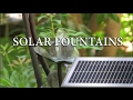 How to install Solar Pumps for Water Fountains and Ponds