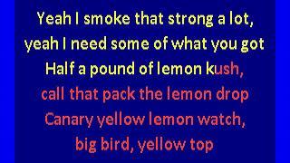 Gucci Mane - Lemonade (karaoke)