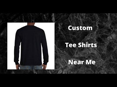 Custom Tee Shirts Near Me | T Shirt Printing Brisbane