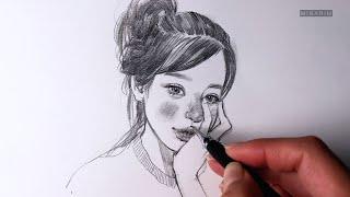 Daily drawing/데일리 드로잉/얼굴그리기/인물…