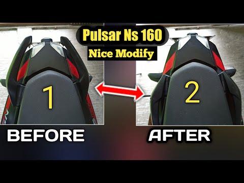 Pulsar Ns160 Grab Handles Modification At Home In 2 Minute