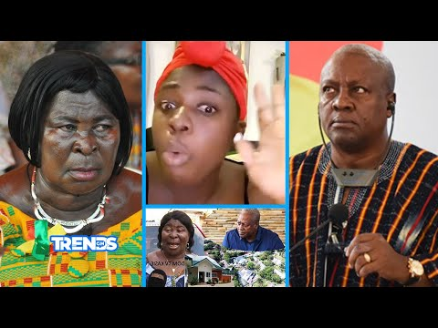 MAHAMA is PAPA NO! Akua Donkor goes Off, Confirms Names of G!rls he CH0P & bought Houses for them at