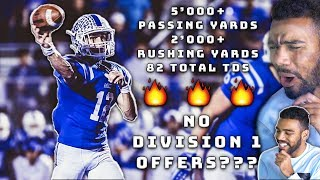 He Put Up Over 639000 YARDS OF OFFENSEAnd Has 0 Division 1 Offers  Sharpe Sports