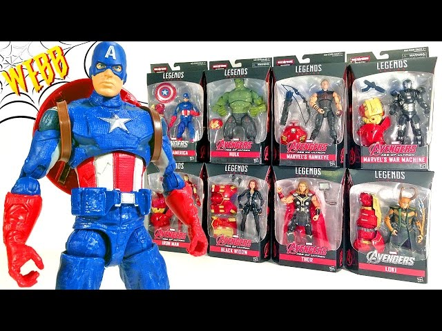 MARVEL LEGENDS Hulkbuster Avengers CAPTAIN AMERICA Action Figure Review