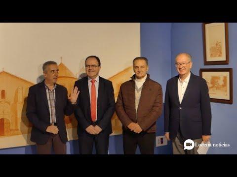 VÍDEO: Cajasur cede al ayuntamiento la colección 'Plazas y calles de Lucena' de Manuel Marín