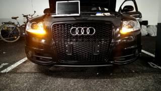Audi A6 4F C6 KnightRider Mode