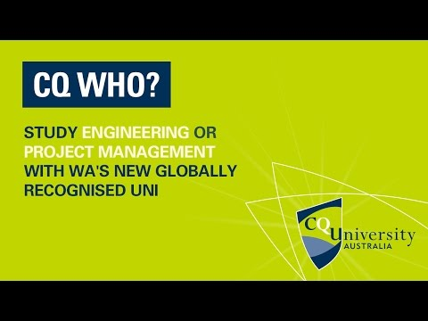 CQUni in WA - Engineering and Project Management