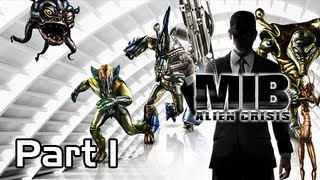 Men in Black Alien Crisis Walkthrough - Part 1 Opening Theft Let's Play PS3 XBOX
