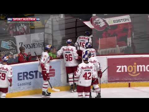 Erste Bank Eishockey Liga 17/18, 2. Runde: HC Orli Znojmo vs. EC Red Bull Salzburg 4:0